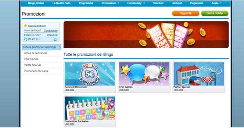promozioni bingo william hill