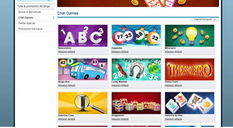 Prova tutti i nuovi chat games di William Hill Bingo!