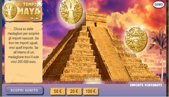 il tempio dei maya