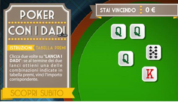 poker con i dadi