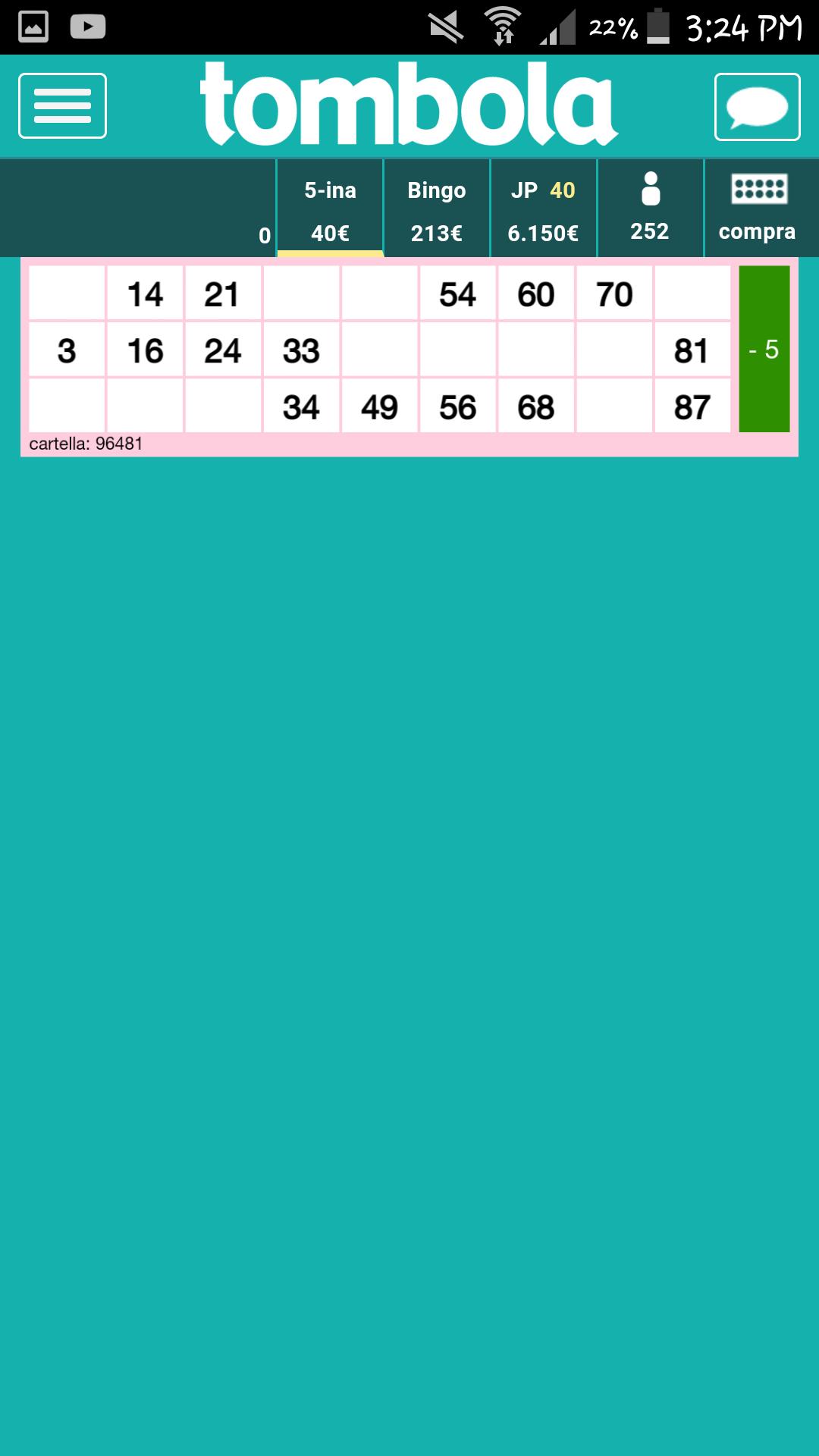 Partita di bingo90