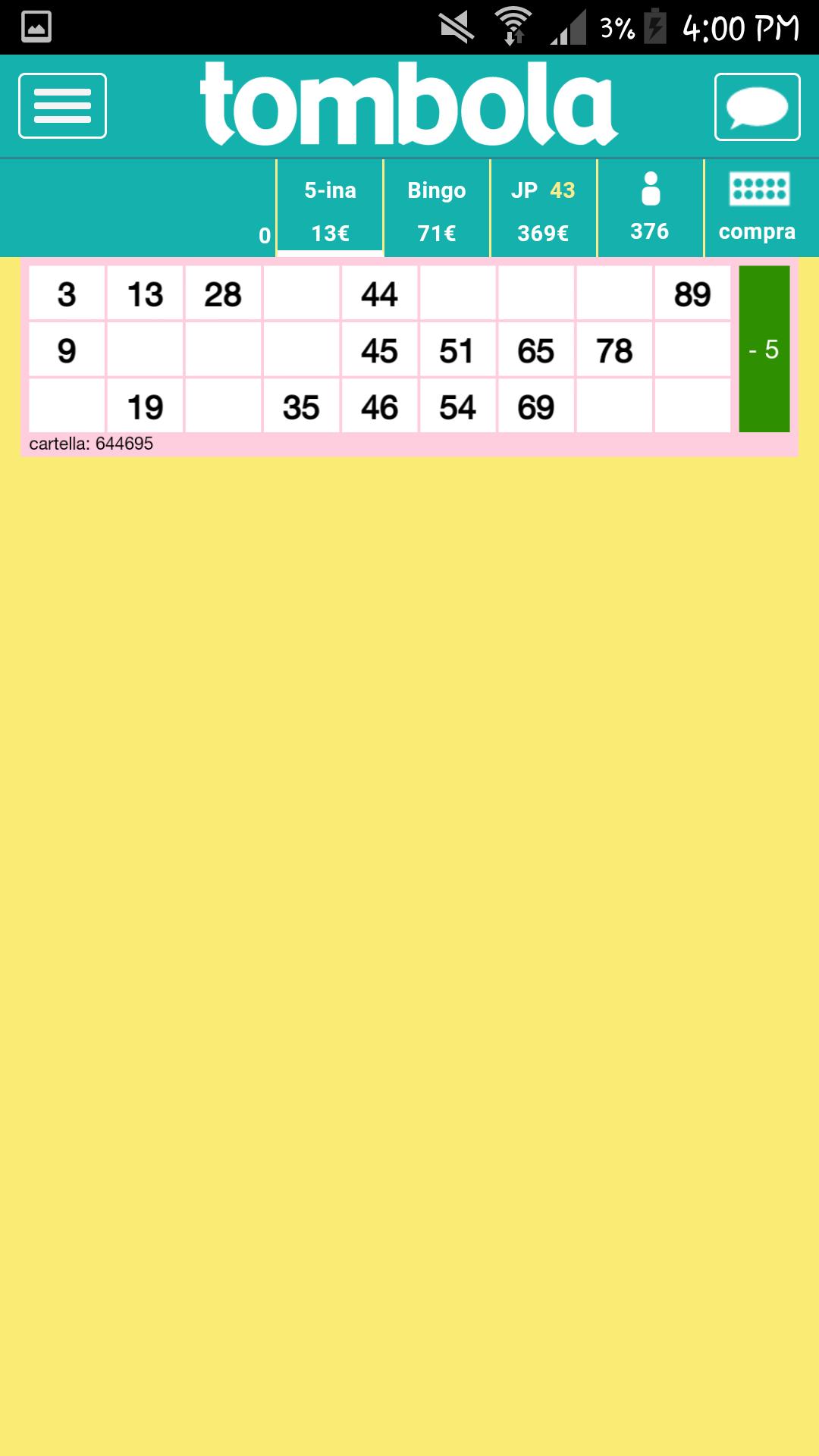 Partita del bingo